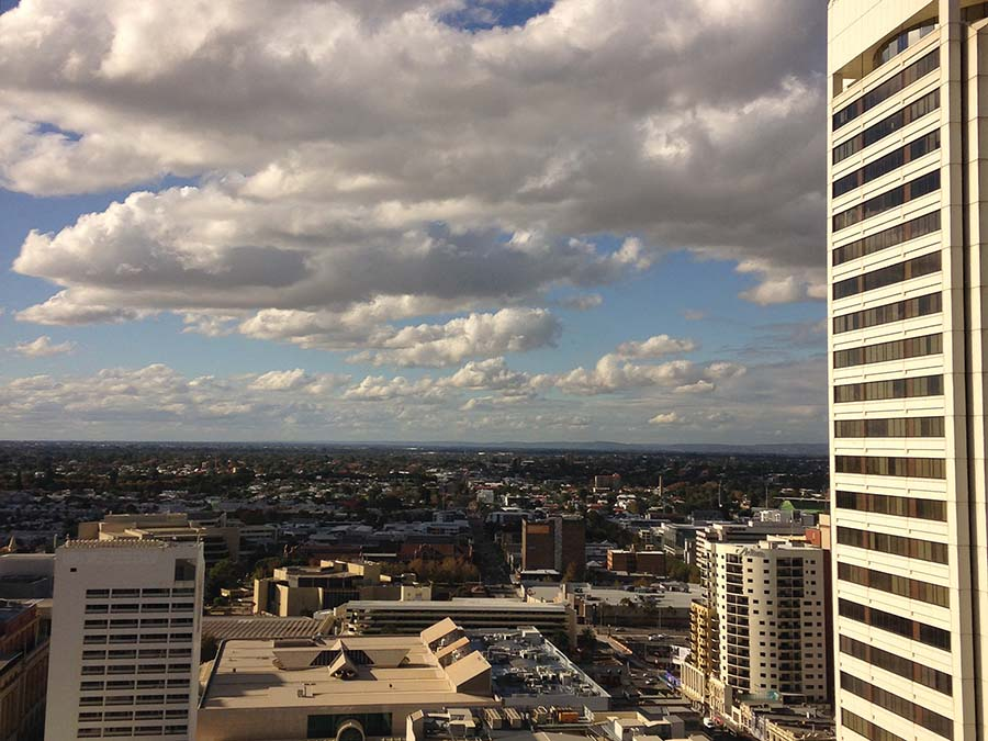 View from Perth office