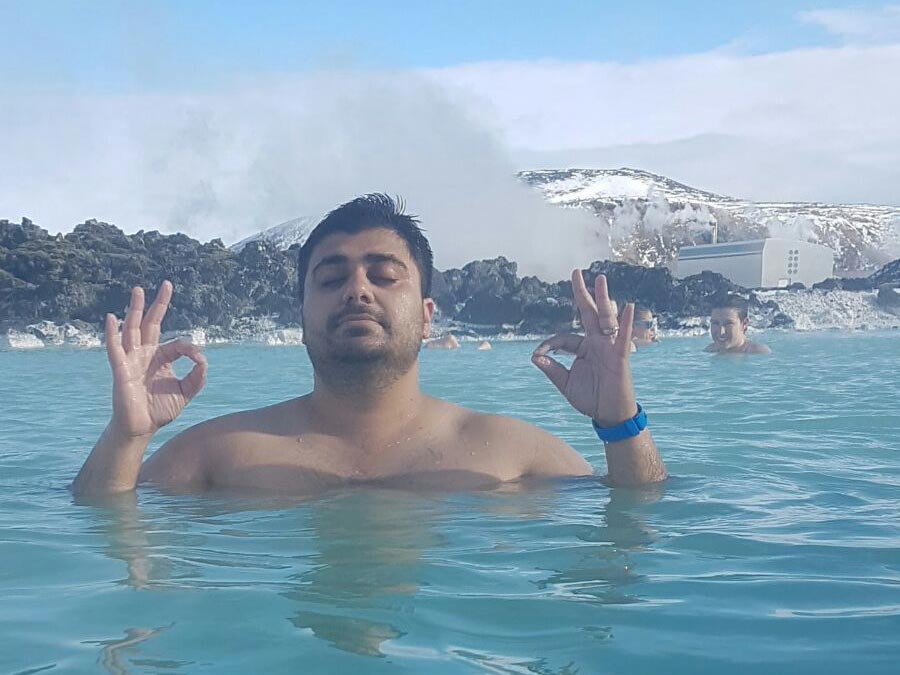 Nakul in Iceland