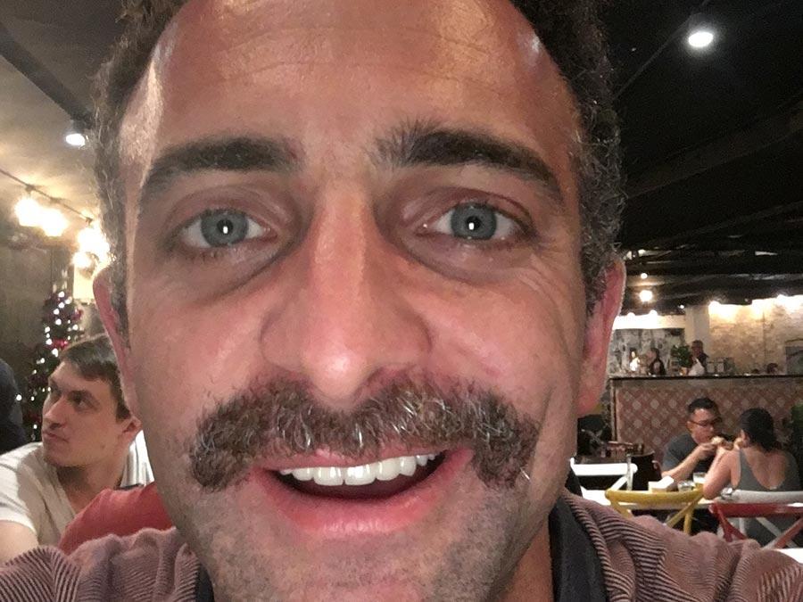 Sam Elderfield does Movember