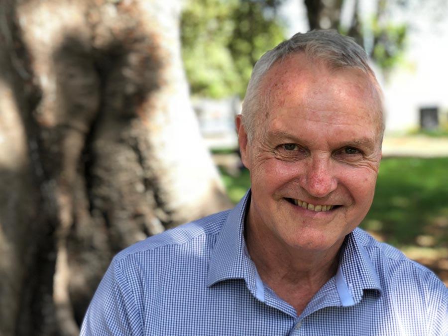 Paul Egan smiling